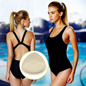 1 Pair Woman Soft Sponge Bikinis Swimsuit Bra Removable Push Up Bra Pads
