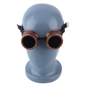 Fashion Cyber Goggles Steampunk Glasses Vintage Welding Punk Gothic Victorian