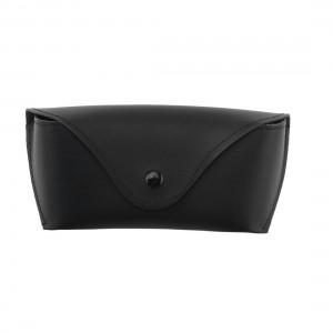 Durable PU Leather Glasses Case Sunglasses Eyeglasses Storage Holder Box Bag