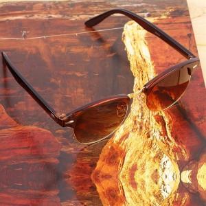 Vintage Half Frame Styles Classic Sunglasses Summer Beach Eyewear Outdoor