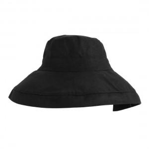 Japanese Style Sun Hat Foldable Wide Brimmed Women Sun Visor Fisherman Hat