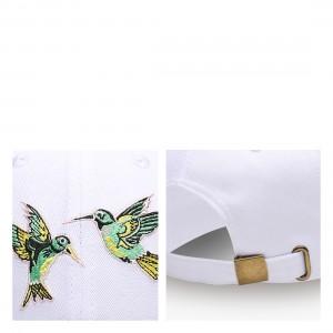 NUZADA Unisex Cotton Baseball Cap With Birds Pattern