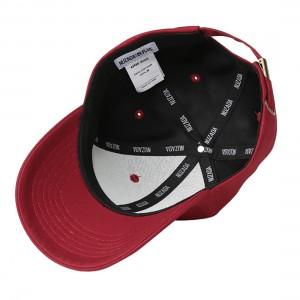 NUZADA Unisex Cotton Baseball Cap With Alphabet Pattern