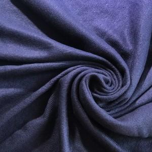 Cashmere Imitation Solid Color Scarf Navy Blue